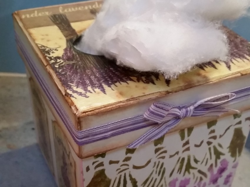 Come realizzare la scatola profumo di lavanda