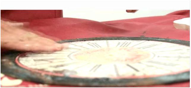 Realizzare un orologio con il cracklè e la pasta effetto metallo