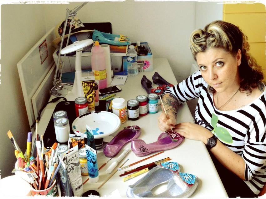 Pennelli, pennarelli e decorazioni in tattoo-style. Intervista a Federica di La Luz