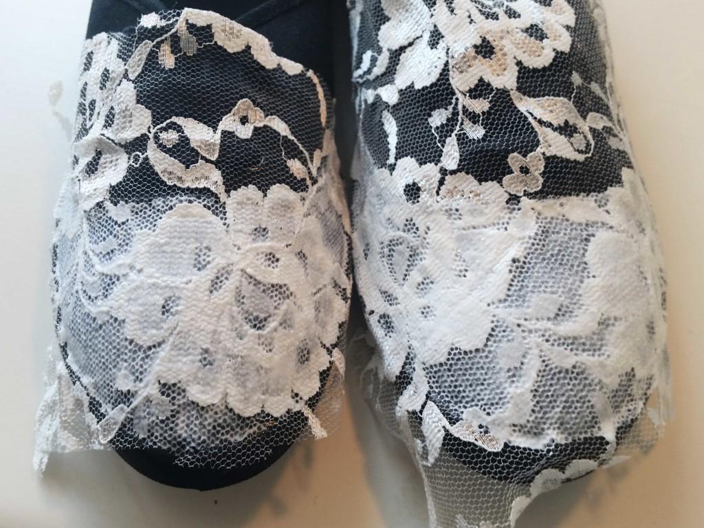 decorare a mano le scarpe
