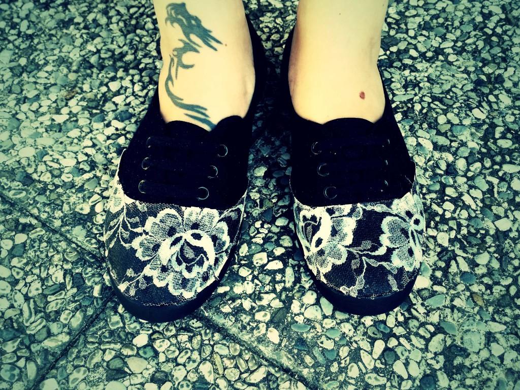 decorare da soli le scarpe