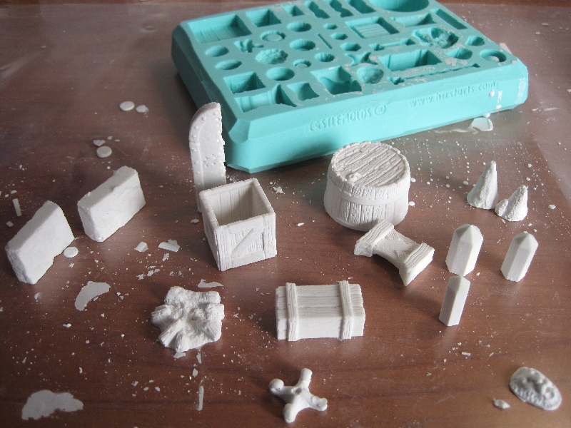 Come usare la marmorina per creare oggetti decorativi