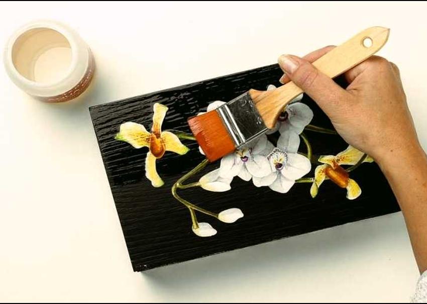 Découpage. Quando usare la vernice protettiva?