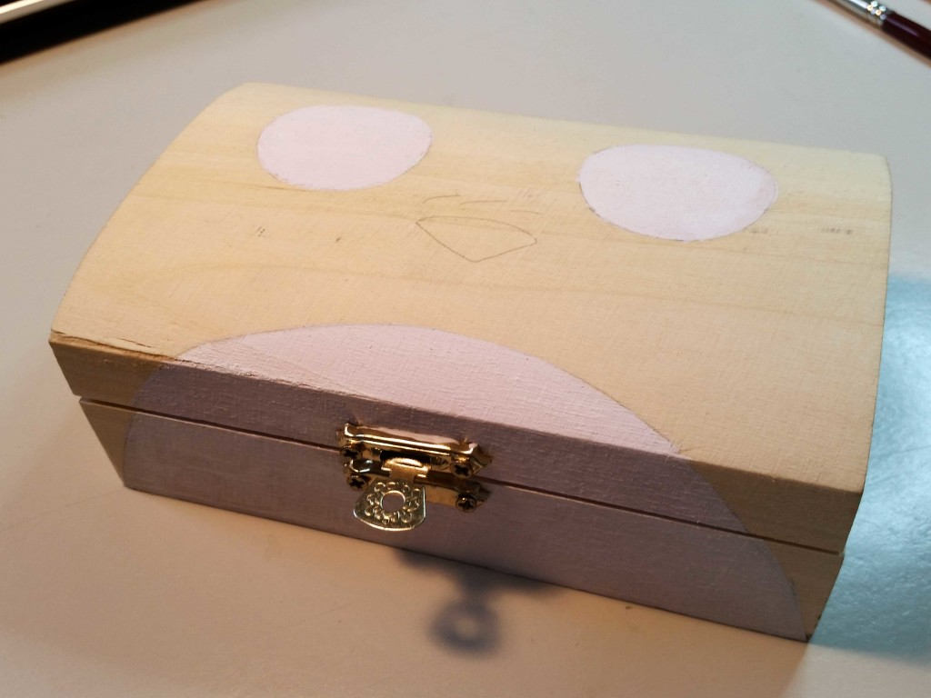 come fare découpage su scatola con fumetti