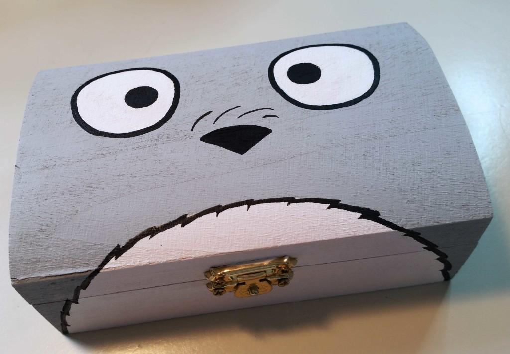 come decorare una scatola con fumetti