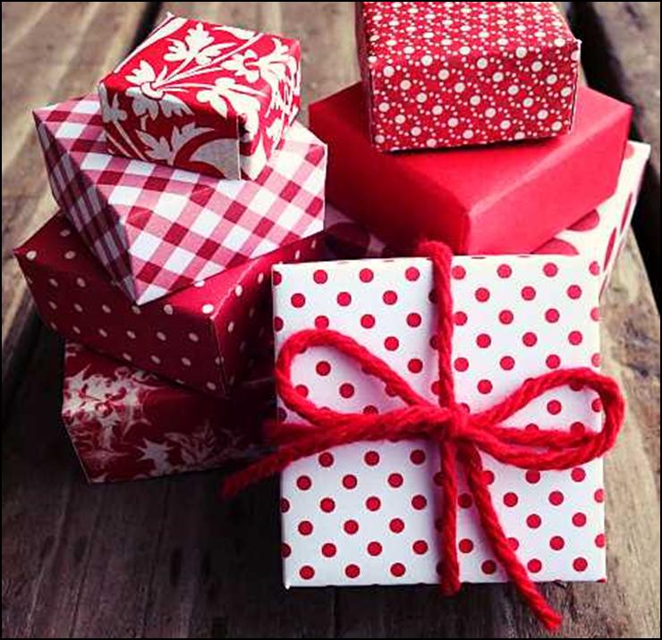 come fare carta da regalo natalizia fai da te