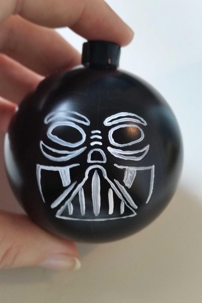 decorazione pallina di Natale star wars