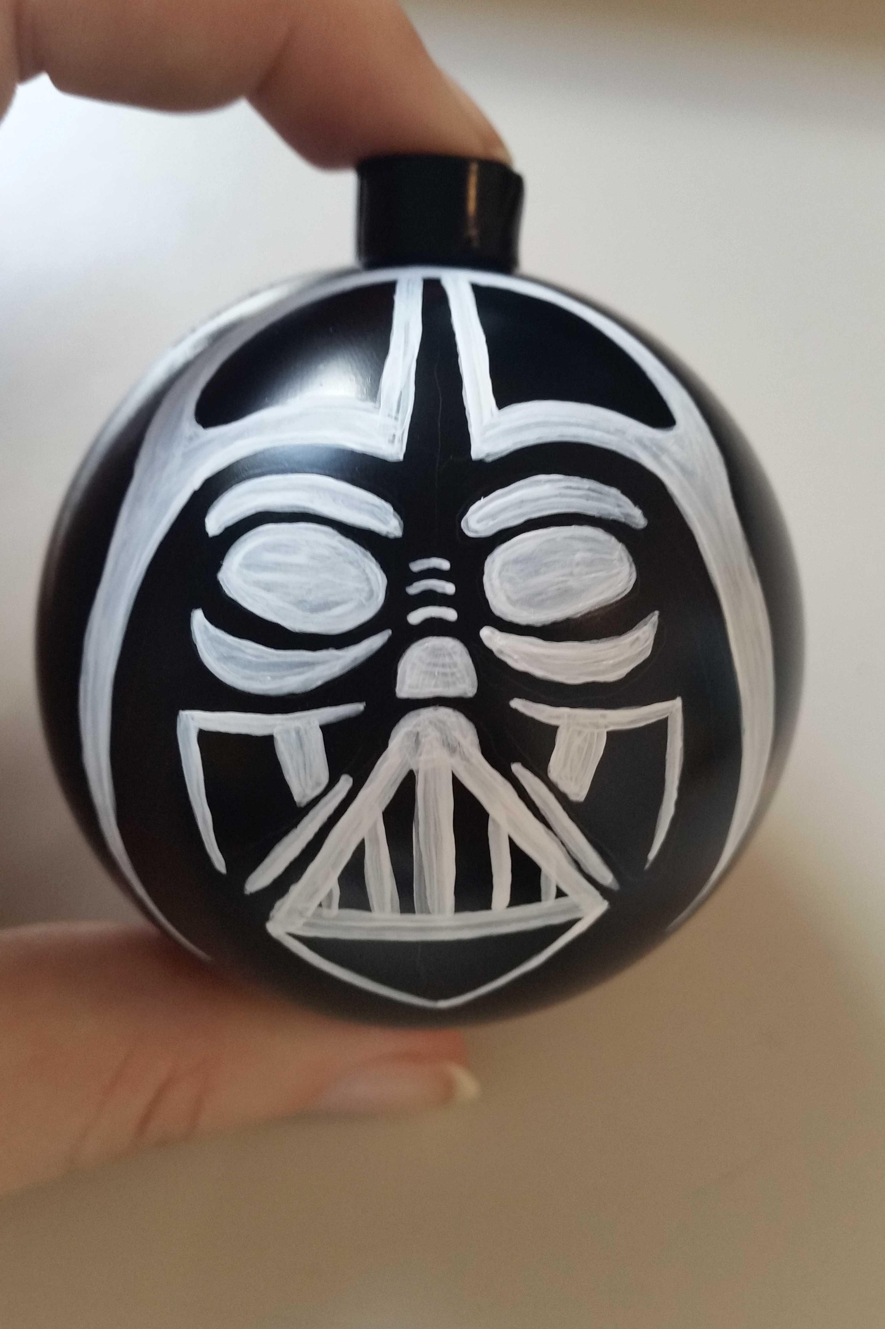 spesso Come decorare una pallina per Natale in stile Star Wars NE36
