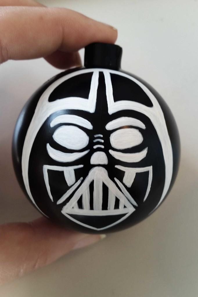 come fare pallina di Natale Star Wars