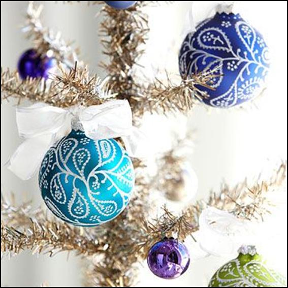 Preferenza Come decorare palline in polistirolo per l'albero di Natale LU72