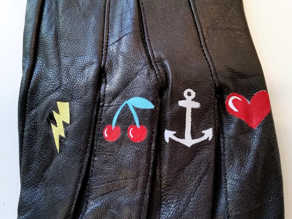 come personalizzare guanti in ecopelle