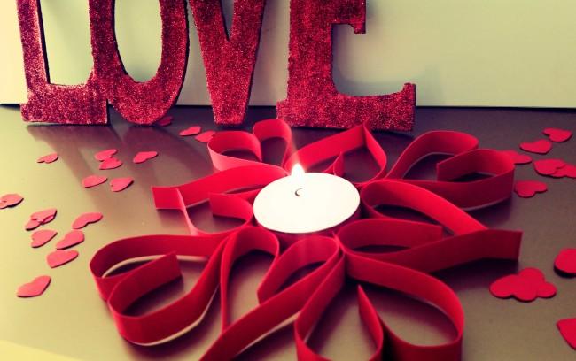 come fare n centrotavola fai da te per san valentino