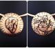 Come decorare bijoux in metallo con colori acrilici e finitura