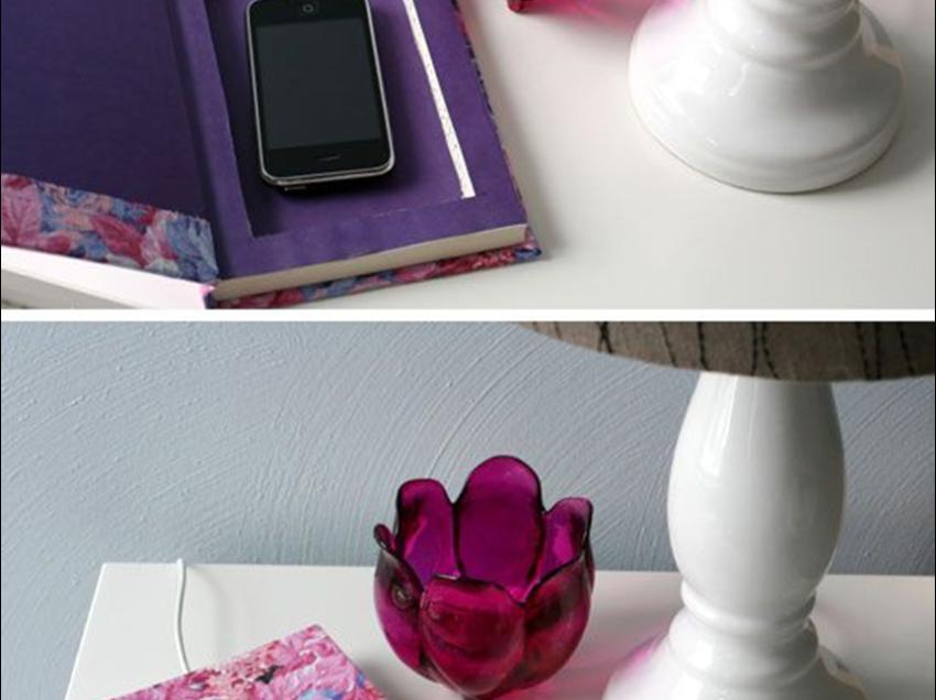 Come creare una charge station per il cellulare con un libro