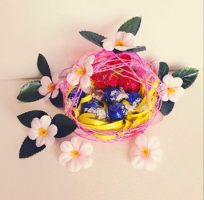 Come fare il cestino regalo di Pasqua