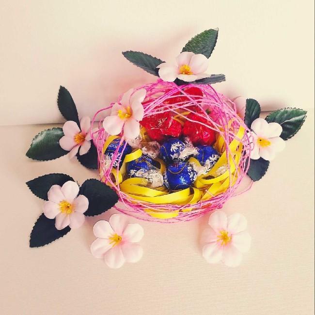 come fare un cestino fai da te per Pasqua